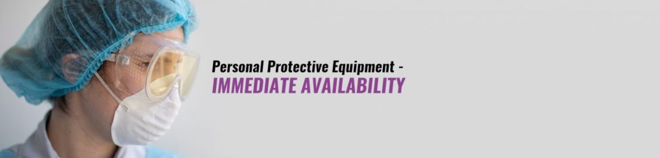 personal protective equipment Banner